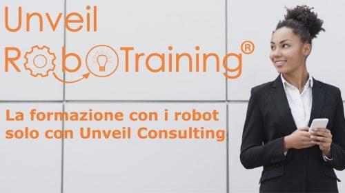 Unveil Consulting forma manager utilizzando i robot per sviluppare le skill del futuro!